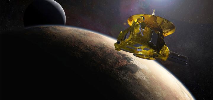 «Новые горизонты»  — автоматическая межпланетная станция НАСА, запущенная в рамках программы «Новые рубежи» и предназначенная для изучения Плутона и его естественного спутника Харона. Запуск осуществлён 19 января 2006 года. Полная миссия «Новых горизонтов» рассчитана на 15—17 лет.