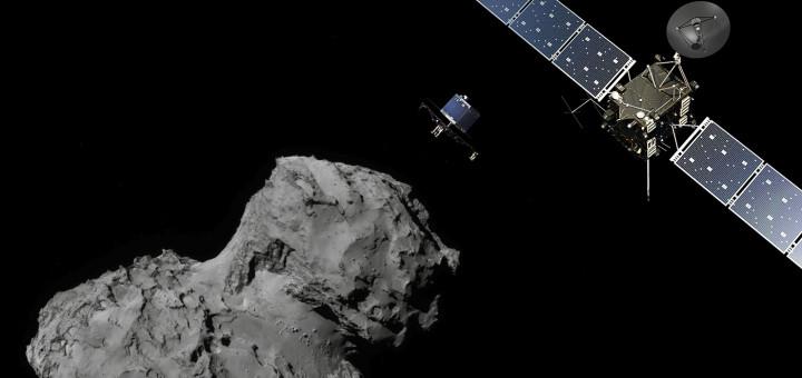 Зонд «Розетта» разобьют о комету Чурюмова-Герасименко