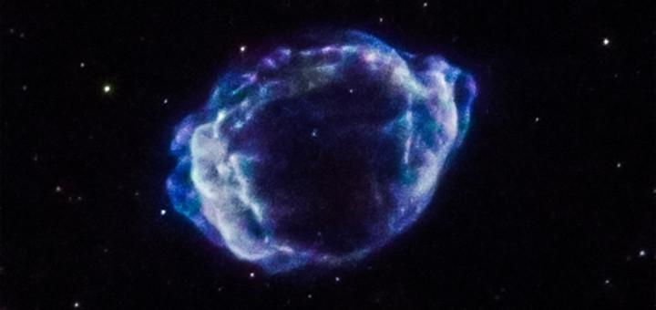 Сверхновая G1.9+0.3. Credits: NASA/CXC/CfA/S. Chakraborti et al.