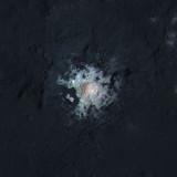Композитное изображение центра кратера Occator на Церере. Credit: NASA/JPL-Caltech/UCLA/MPS/DLR/IDA/PSI