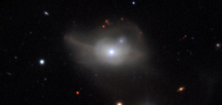 Галактика Markarian 1018. Предоставлено: ESO/CARS survey