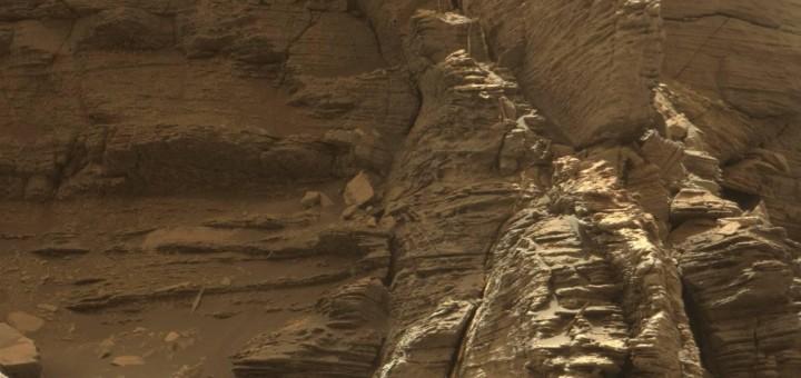 Снимок сделан 8 сентября 2016 года, на 1454 марсианский день работы «Curiosity» на Марсе. Credit: NASA