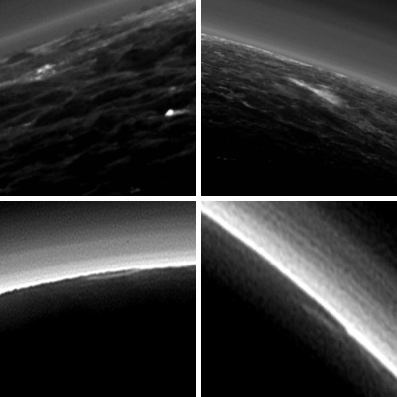 Зонд New Horizons нашел наПлутоне облака