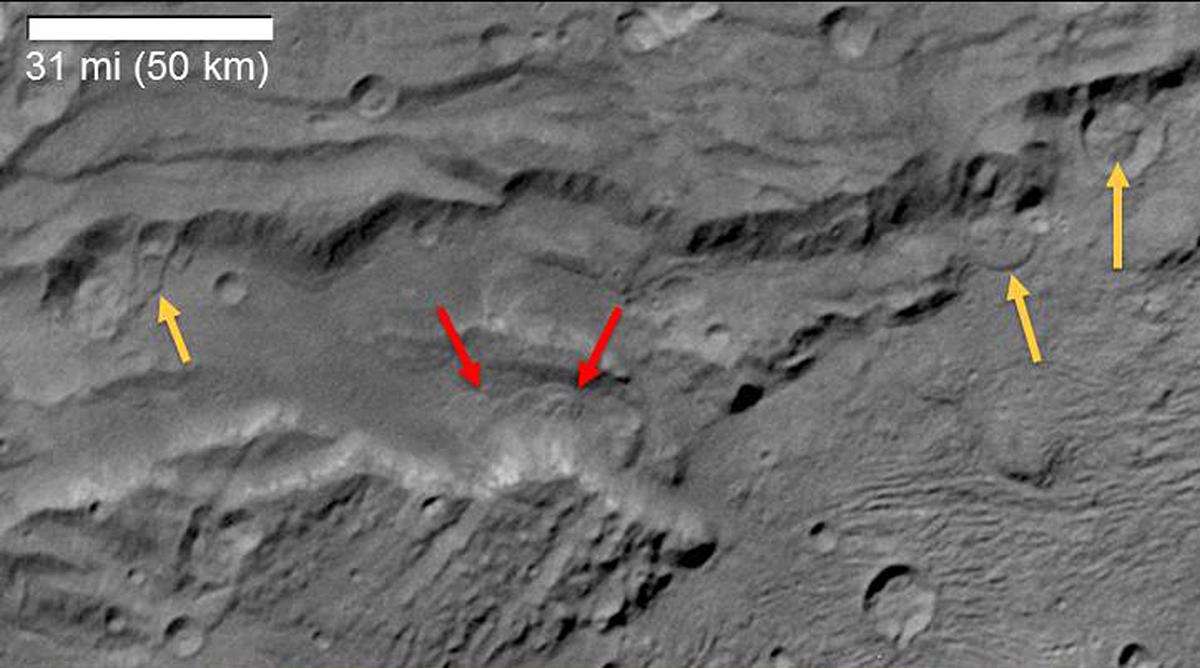 Зонд New Horizons отыскал наПлутоне облака