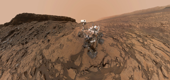 Селфи марсохода NASA «Curiosity». Credit: NASA/JPL-Caltech/MSSS