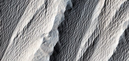 Область Medusae Fossae на Марсе. Image Credit: NASA/JPL/University of Arizona
