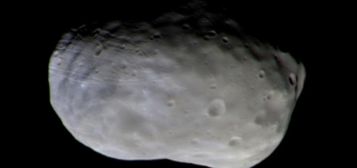 Фобос глазами TGO. Credit: ESA/Roscosmos/ExoMars/CaSSIS