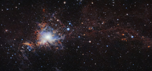 Молекулярное облако Orion A. Credit: ESO/VISION survey