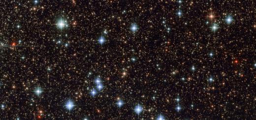Участок созвездия Стрельца. Credit: ESA/Hubble & NASA