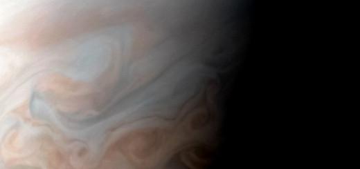 Вихри Юпитера. Credit: NASA/JPL-Caltech/SwRI/MSSS/Sergey Dushkin