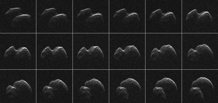 Астероид 2014 JO25. Credits: NASA/JPL-Caltech/GSSR