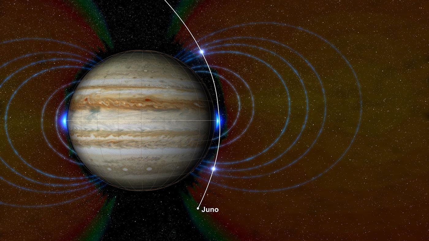Ученые спомощью Juno впервый раз измерили глубину огромного Красного Пятна наЮпитере