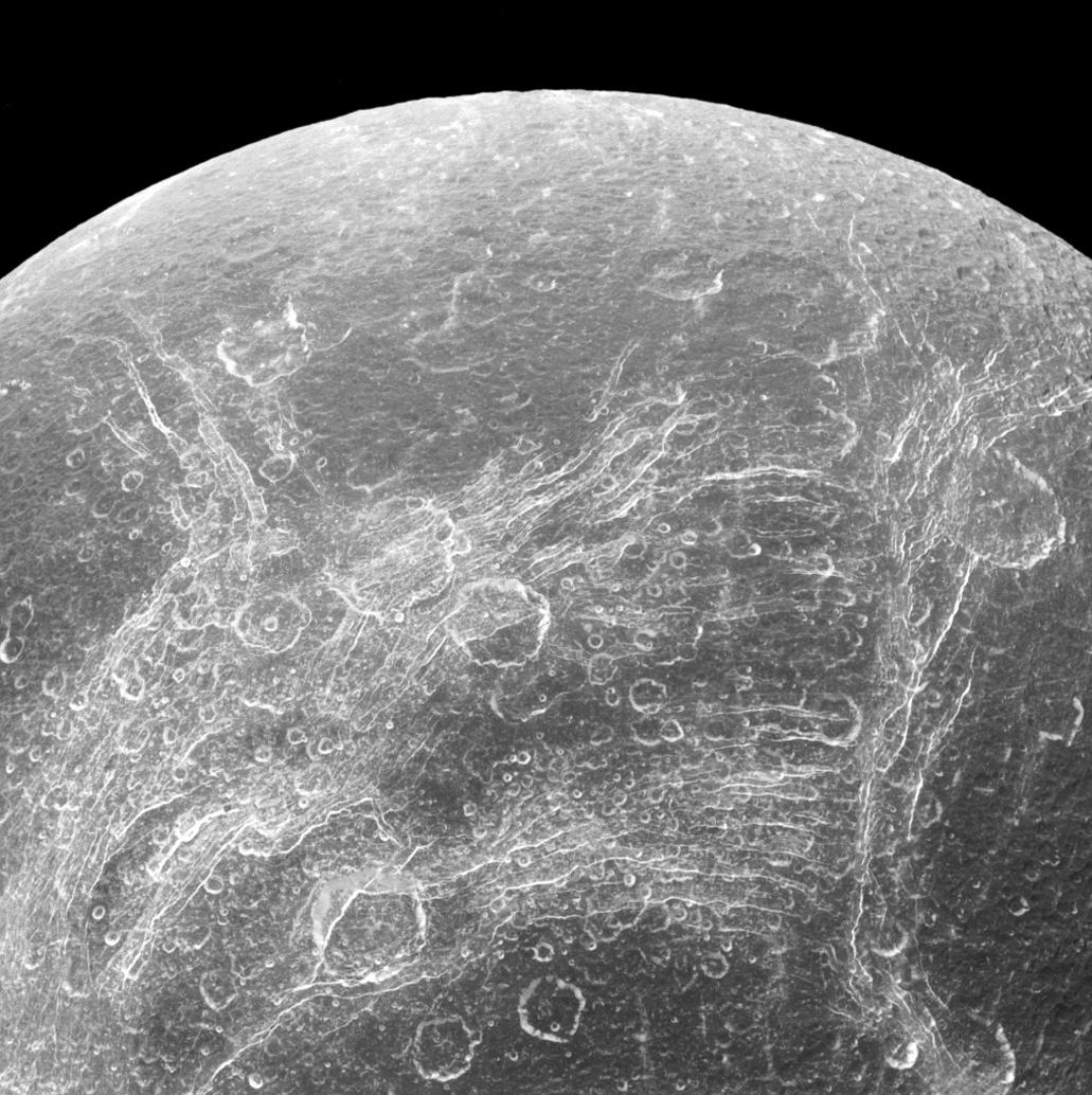Диона - естественный спутник Сатурна, открытый Джованни Кассини в 1684 году.