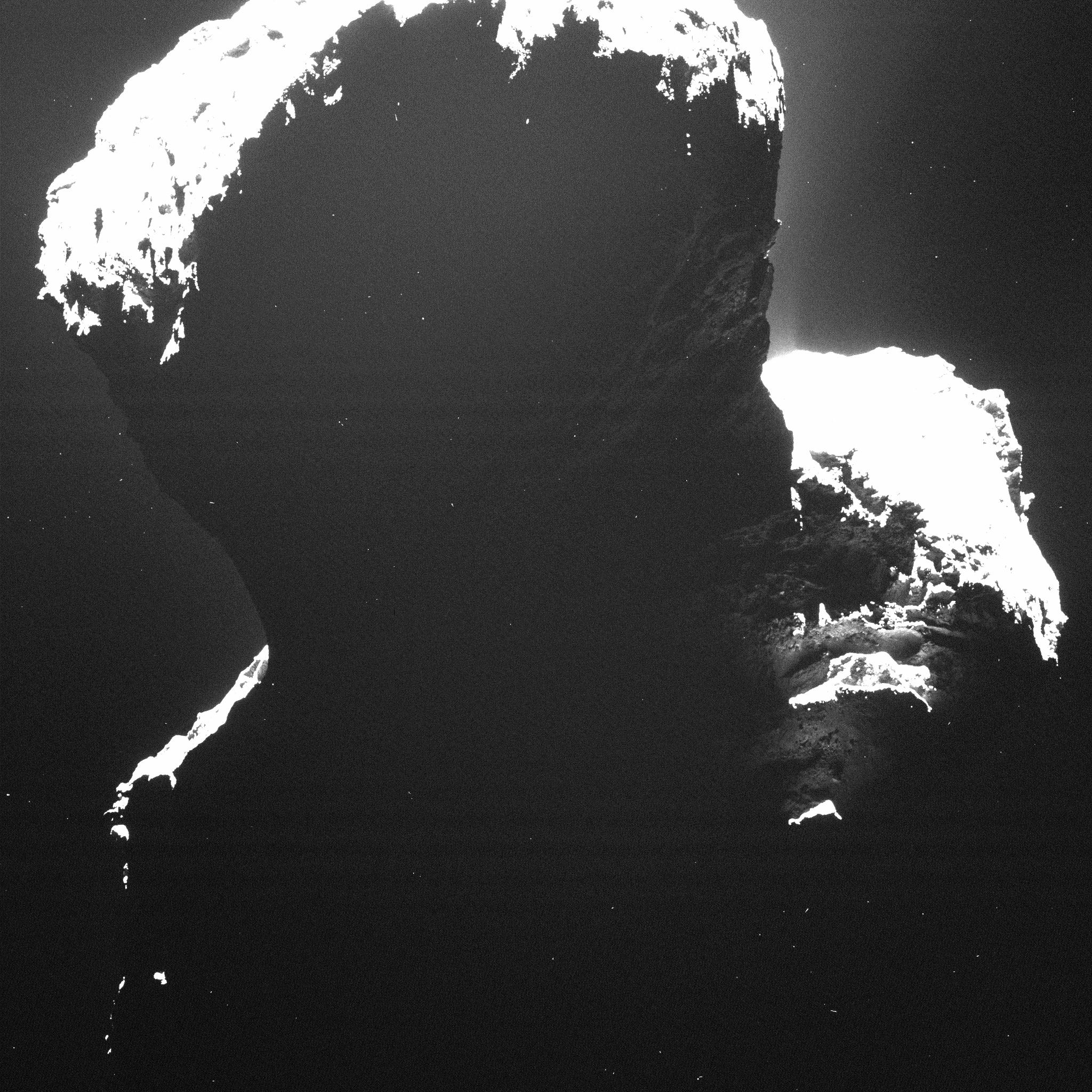Credits: ESA/Rosetta/MPS for OSIRIS Team