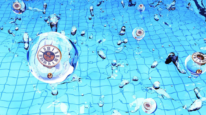 Художественное представление первичных стандартных часов. Credit: Xingang Chen