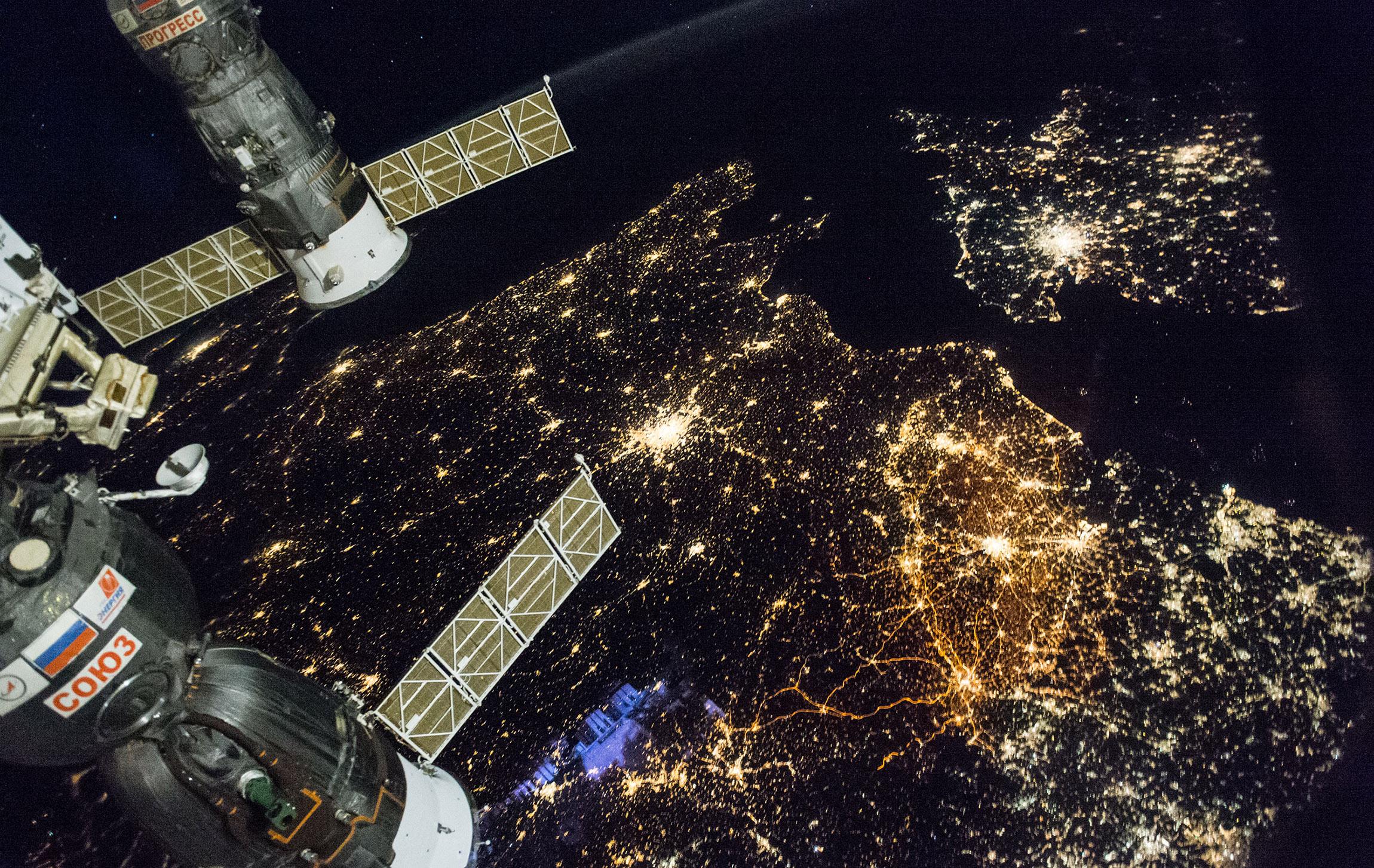 фото россии из орбитальной станции видеопроката фотопроката