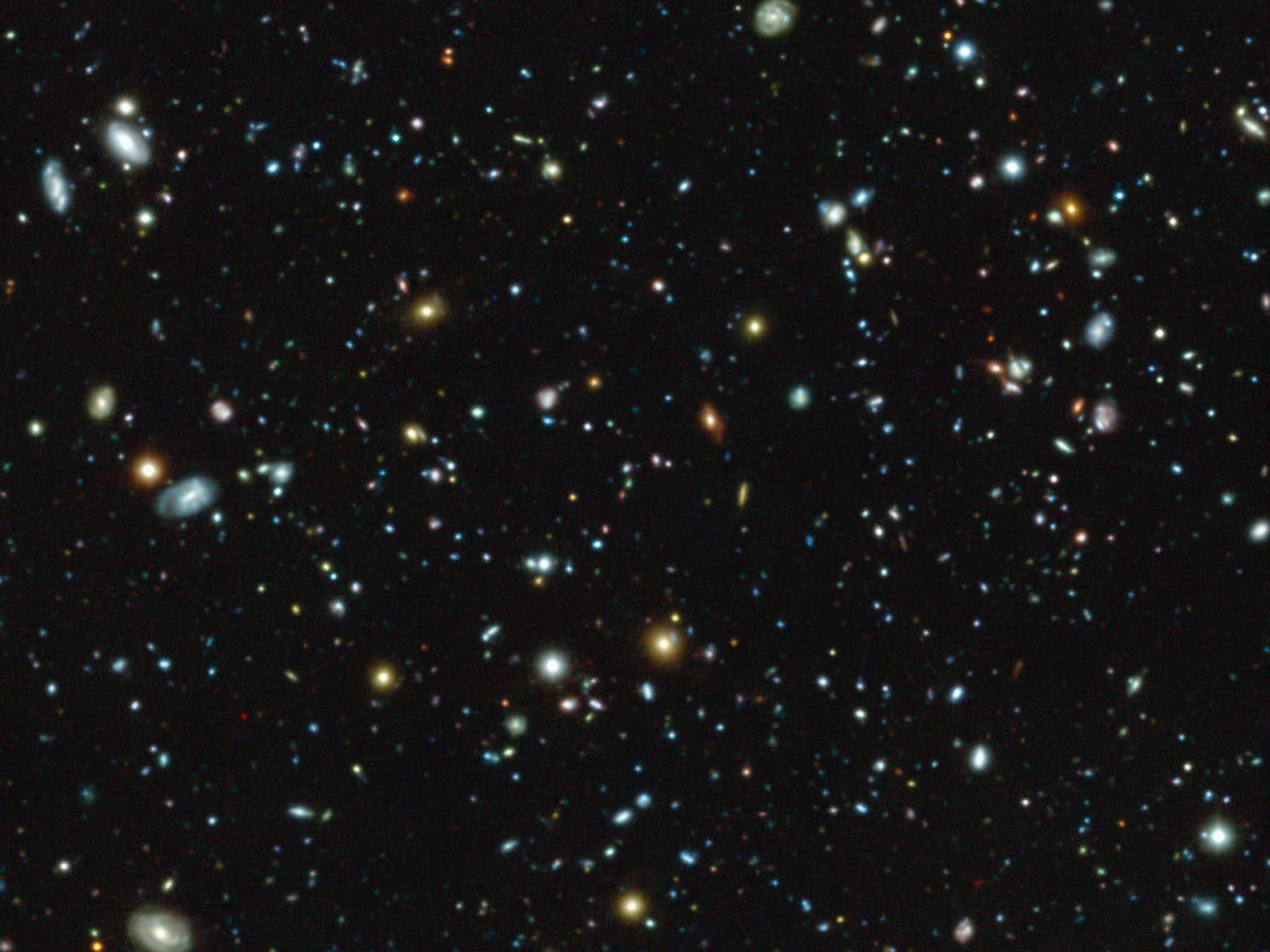 hubble ultra deep field youtube - HD2048×1536