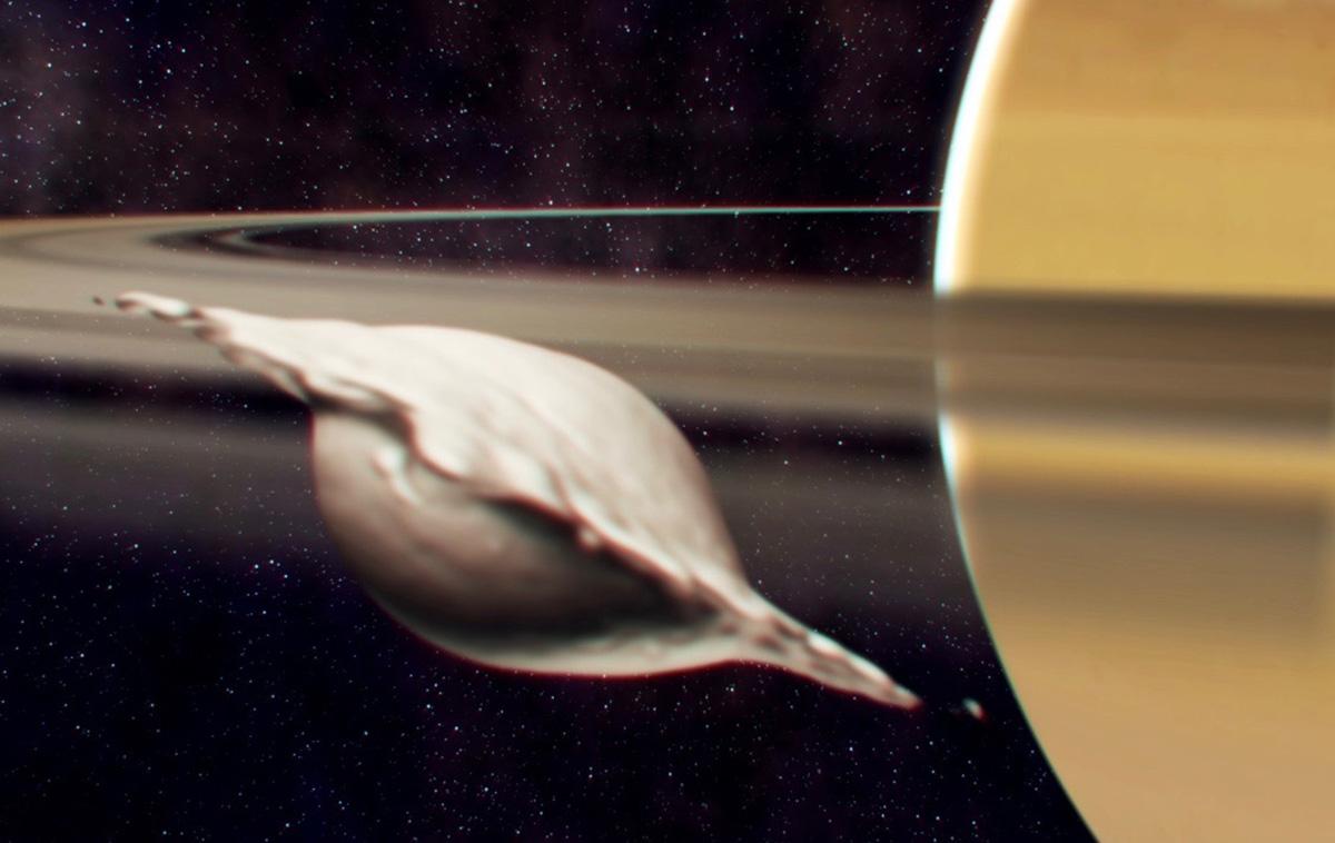 фото космического объекта виде пельмени почти