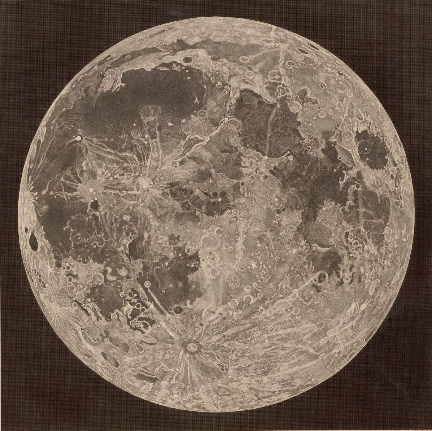 которыми карта луны с фото и названиями через три