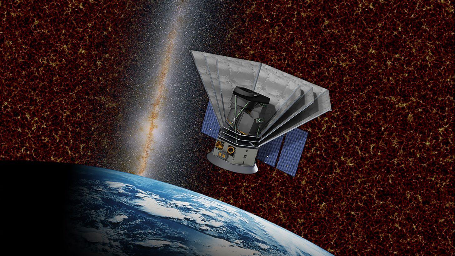 Художественное представление миссии NASA «SphereX», целью которой станет изучение истоков Вселенной. Запуск намечен на 2023 год. Credit: Caltech