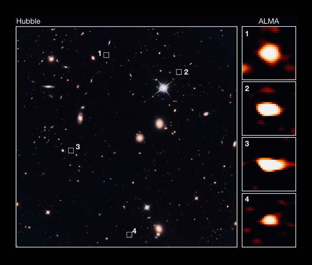 Астрономы обнаружили 39 галактик, существование которых немогут пояснить