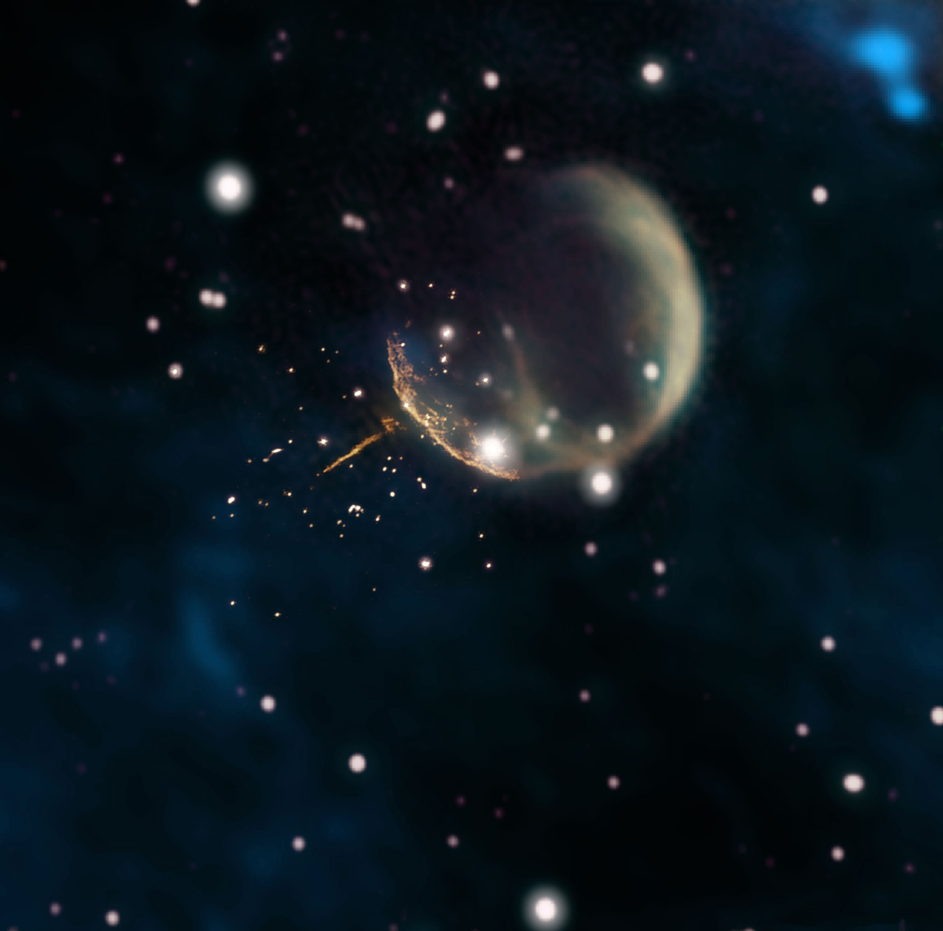 extra galactic pulsars - HD8404×8297