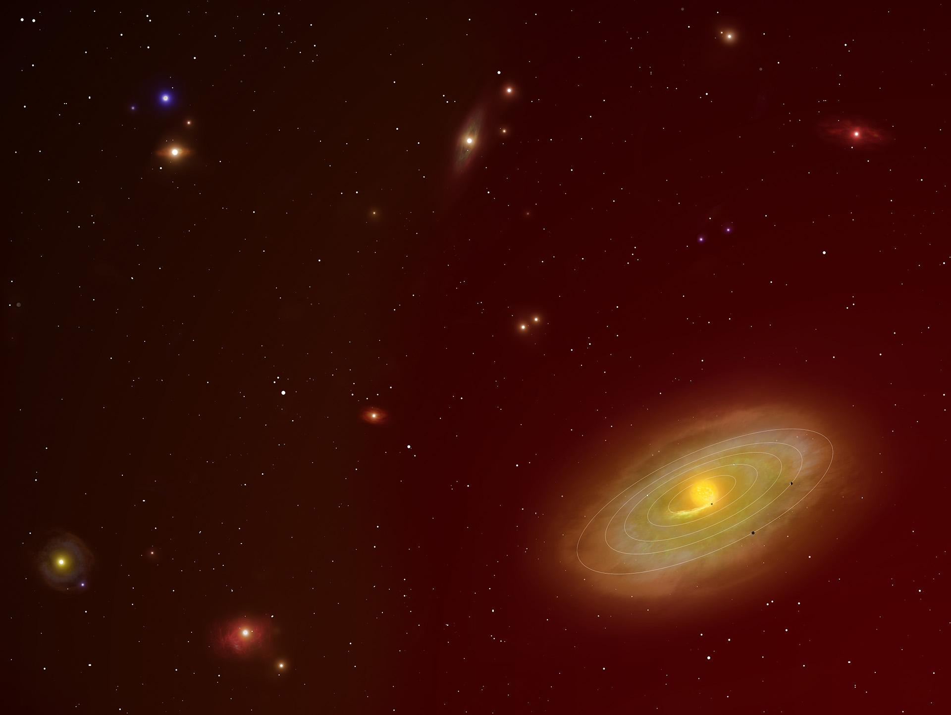 фотографии планет за пределами солнечной системы