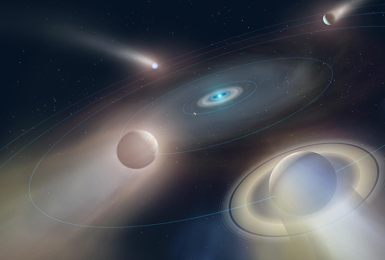 Виявлена перша екзопланета, яка пережила смерть своєї зірки